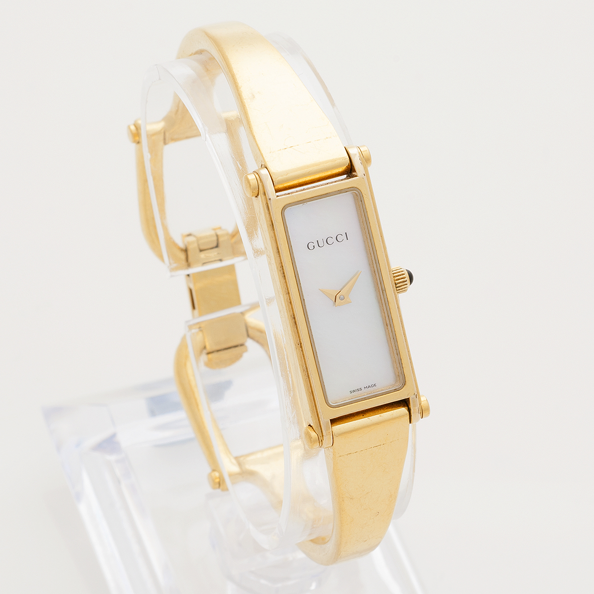 f78fcc02de7bf6 Gucci W1074 1 · Gucci W1074 4 · Gucci W1074 3 · Gucci W1074 2. Gucci 1500L  Mother of Pearl Bangle  high fashion watch brands