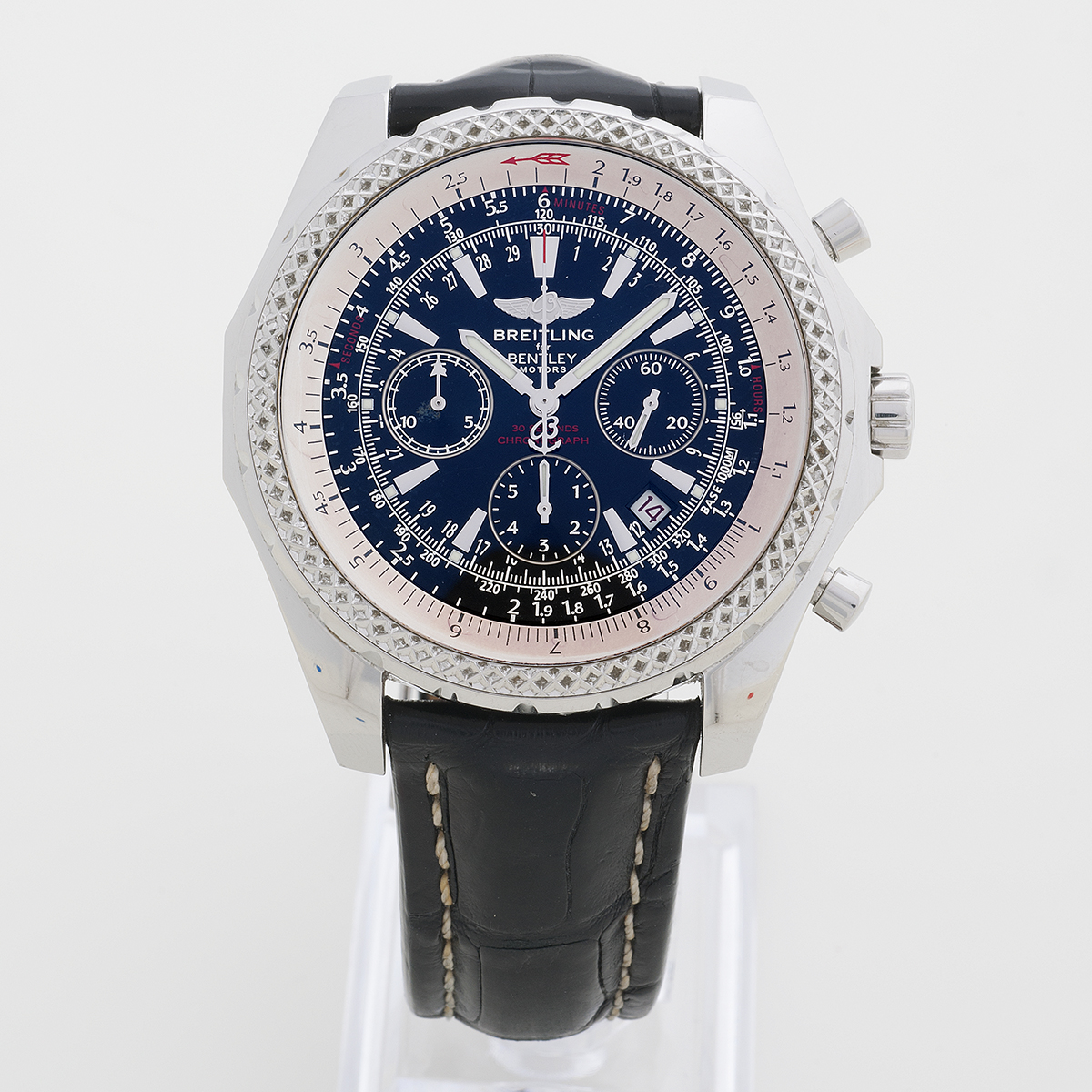 eta steel en chronograph kal automatic full zeitauktion ref bentley breitling