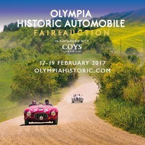 Olympia Historic Automobile Fair & Auction