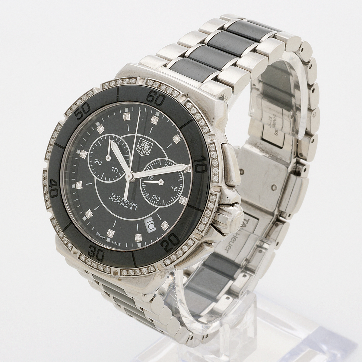 tag heuer formula 1  quot diamonds quot  cah1212 vintage and prestige Rolex Watches Omega Watches for Women