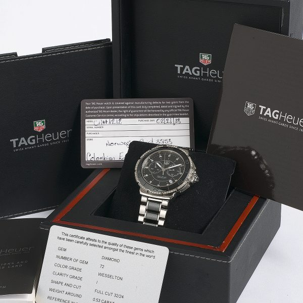 tag heuer cl111a instruction manual