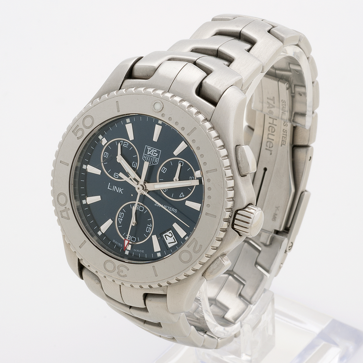 Tag heuer link chronograph cj1112 vintage and prestige for Tag heuer d link