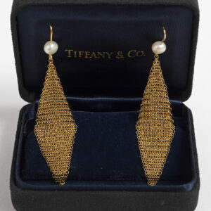 Tiffany & Co. Elsa Peretti Mesh earrings