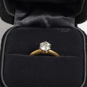 Tiffany & Co. Solitaire Ring