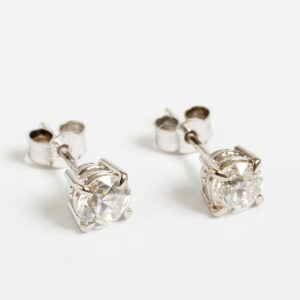 Diamond Earrings 1ct J450_3
