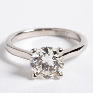 Solitaire Diamond ring 1.60ct