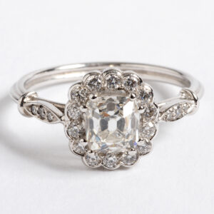 Diamond cluster ring 1.03ct