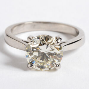 Solitaire Diamond ring 2.32ct