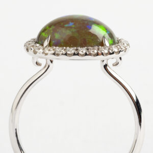 Opal Cabouchon Dress ring