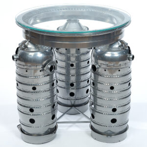 USAF Fuel Burner/ Jet Engine Coffee Table