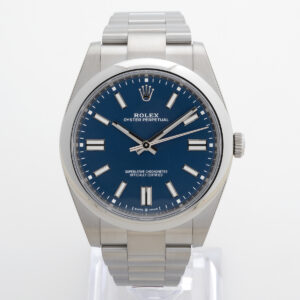 Rolex Oyster Perpetual 41 124300 Blue