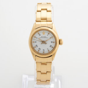 Rolex Lady Oyster Perpetual 18k yellow gold 6718 W3399_1