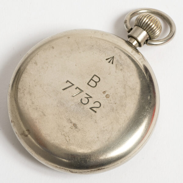 Rolex pocket watch case by Calcort with cal 590 movement WW2 W3481_4
